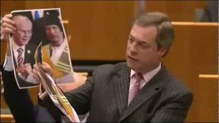 Global Stage Libya EU Council President Friend Of Gaddafi