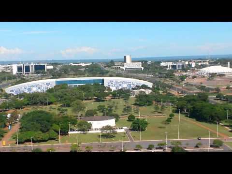Vista de Brasília de cima da torre de Tv