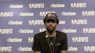 Kyrie Irving Postgame Interview - Game 2 - Celtics Vs Nets | 2021 NBA Playoffs