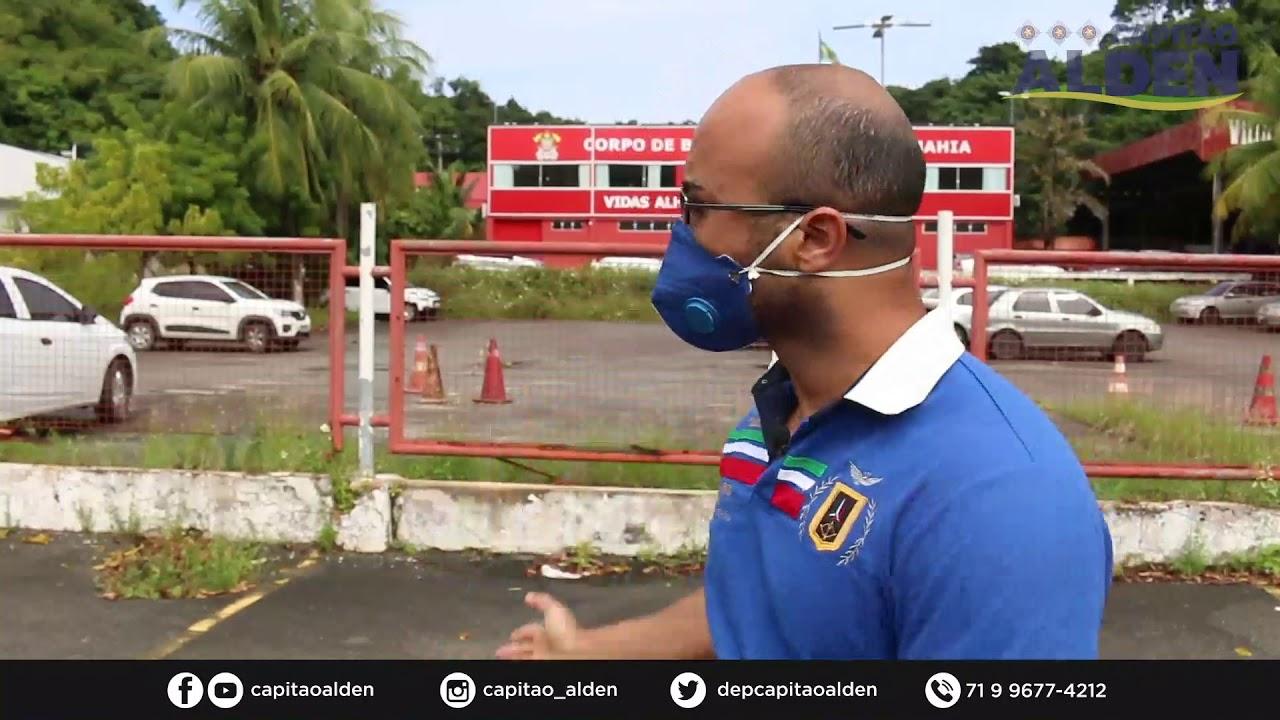 Capitao Alden faz novas denúncias ao MP e cobra vistorias em hospitais de campanha