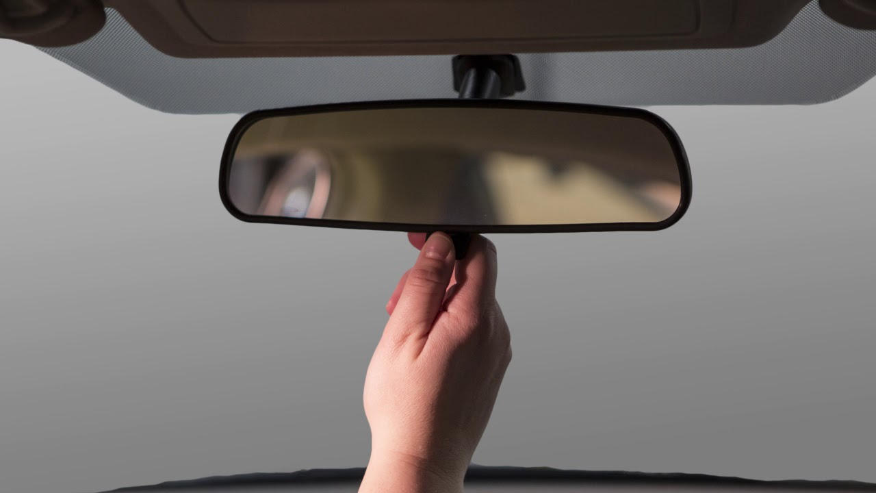 Toyota Tacoma Owners Manual: Anti-glare inside rear view mirror