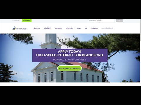 Town of Blandford Broadband Update