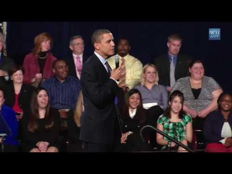 President Obama Talks Jobs in Allentown