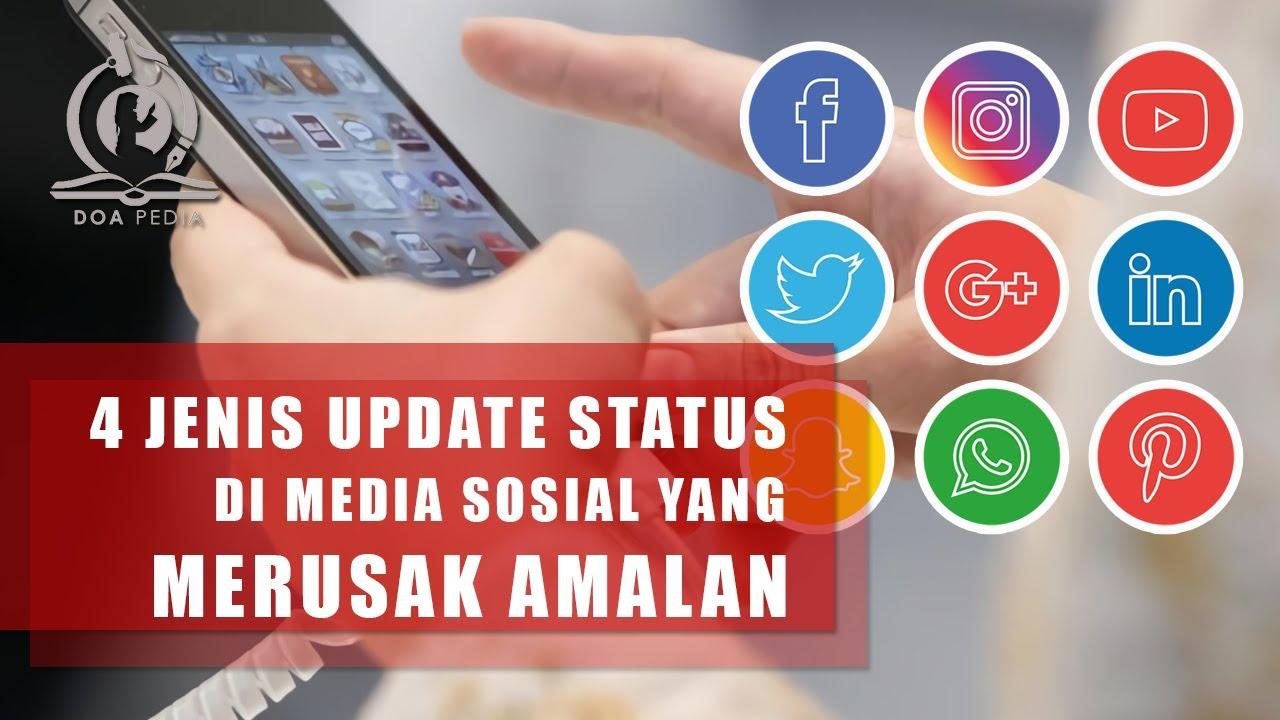4 Jenis Update Status yang Merusak Amalan, Jangan Share di Medsos!