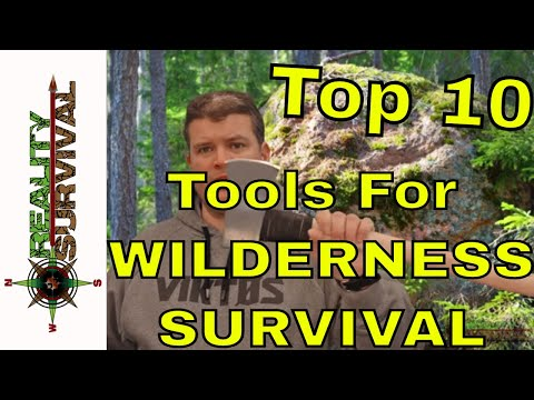 Top 10 Tools For Wilderness Survival - 1 Glaring Omission!