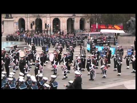 Massed Bands of the Sea Cadet Corps - National Trafalgar Parade 2012