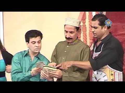New Pakistani Stage Drama - Iftikhar Thakur And Tariq Teddy - Full Comedy Clip