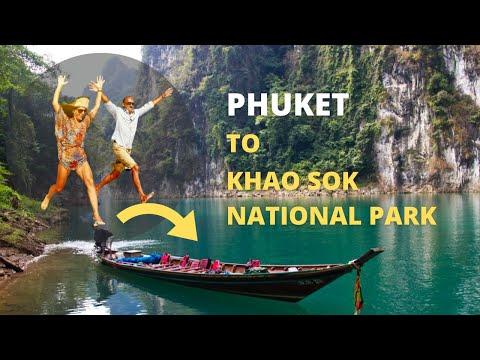 Travel from Phuket to Khao Sok National Park