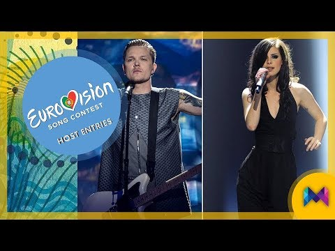 Eurovision 1956-2017 - TOP 20 Most Successful Host Entries | #ESC2018