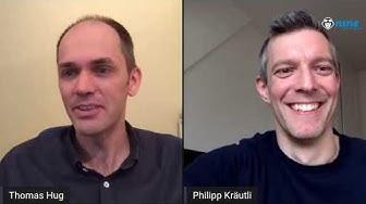 Interview mit Philipp Kräutli von Astina AG und Thomas Hug über covidtracker.ch