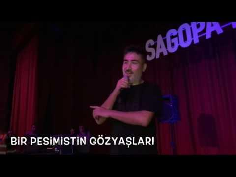 Sagopa kajmer espiri yapıyor , Bir pesimistin gözyaşları konseri , hayranlarıyla sohbet ediyor