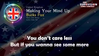 "[1981] Bucks Fizz - ""Making Your Mind Up"" (United Kingdom)"