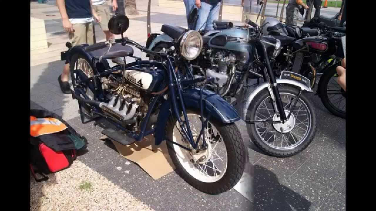 Vintage & Veterans Motorcycle Club South Australia 2014 Glenelg show ...