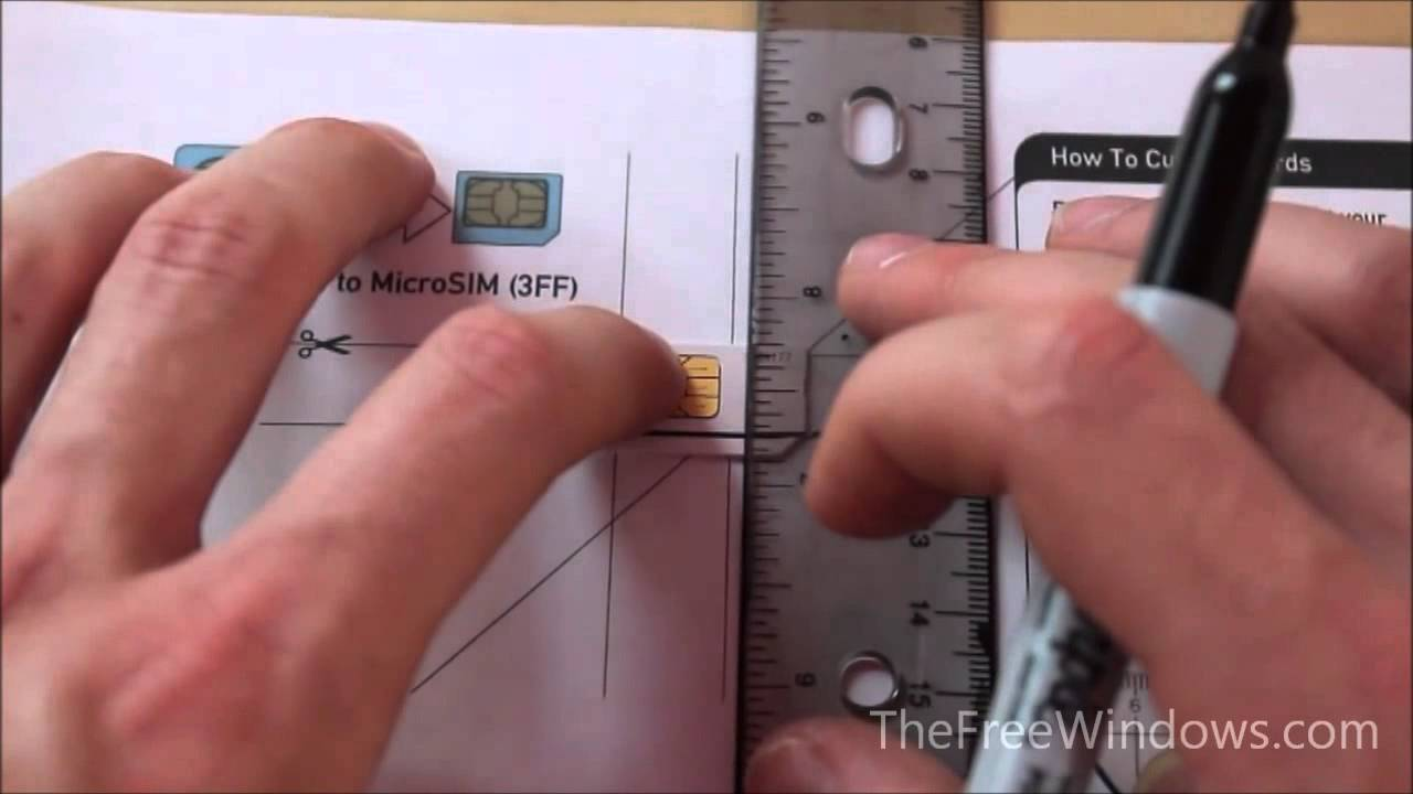 how to use cut sim card kaisi