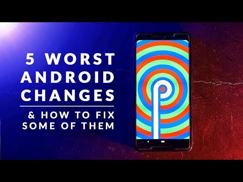 Five of Android P's worst changes (and how to fix some of them)
