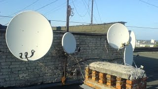 Як налаштувати супутникову антену за допомогою смартфона 2ой спосіб