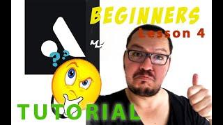 Auxy studio tutorial lesson 4 Video