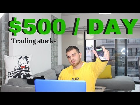 How To Make $500+ a Day Trading Stocks …Stock Market For Beginners 2020
