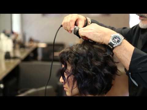 A-Line Bob Haircut Go With Curly Hair