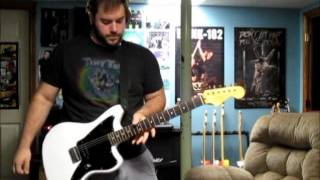 """Blink 182 - Obvious Cover with Tom Delonge """"Obvious"""" Guitar"""