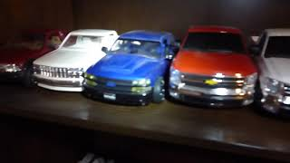 Some of my chevy pickup truck collection plastic models thumbnail
