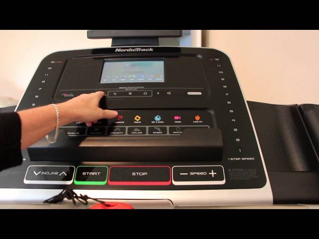NordicTrack Commercial 1750 problems | Treadmill console