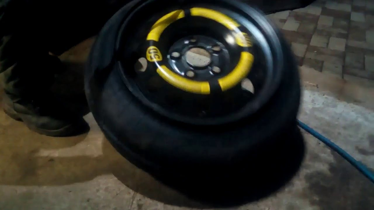 Volkswagen Touareg запасное колесо