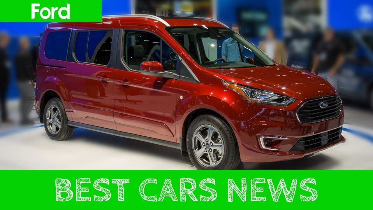 2019 ford transit connect wagon updated minivan based on european commercial vehicle