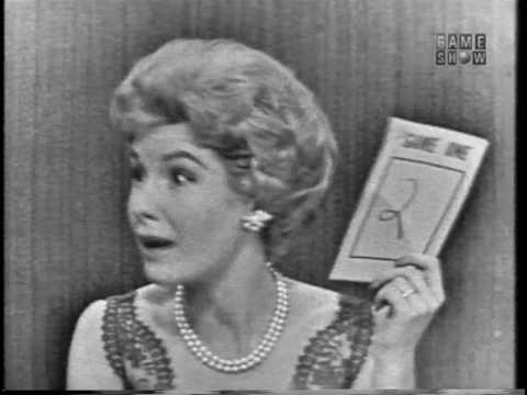"To Tell the Truth - ""Papa Jack""; PANEL: Betty White, Julia Meade (Feb 24, 1959)"