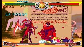 [TAS]ARCADE Vampire Savior The Lord of Vampire-Jedah Dohma