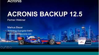 Introducing version 12.5 of Acronis Backup - 25 July 2017