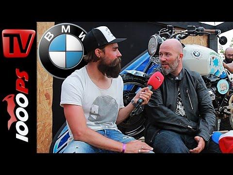 Bike-Talk mit K.OT | BMW Motorrad Chefdesigner Ola Stenegard | Wheels & Waves 2015 Foto