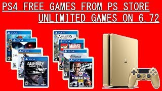 PS4 Free Games on 6.72 - I filled my another PS4 Console