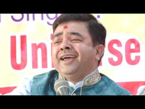 Bhajan Sandhya by Dr Rajesh Universe @ Lions Club, Faridabad maitreePart-2