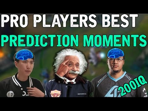 Pro Players BEST PREDICTION MOMENTS! (League of Legends)