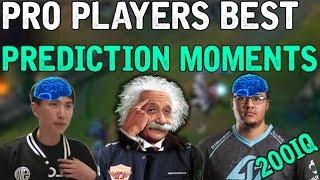 pro players best prediction moments league of legends