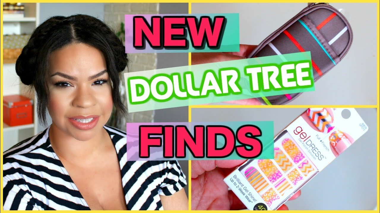 WHAT\'S NEW AT THE DOLLAR TREE   Sensational Finds - YouTube