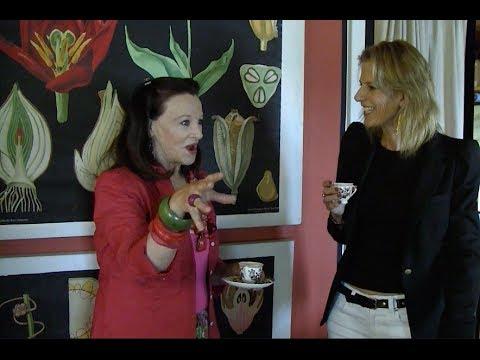 At Home with Susanna Salk and Marian McEvoy