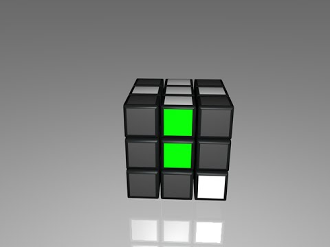 How to Solve the Rubik's Cube - Step 2) First Layer Corners (right side starting position)