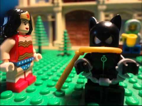 Lego Superheroes: Wonder Woman and Catwoman(ft.Ac films)