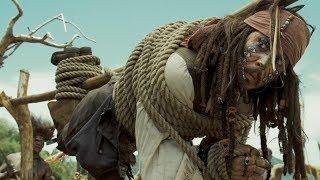 """Побег  Джека Воробья из племени пилигостов - """"Пираты Карибского моря: Сундук мертвеца"""""""