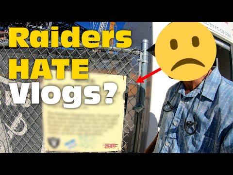 The Raiders HATE Social Media? WHAT?? Raiders Stadium Update
