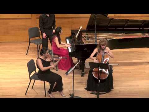 "Schubert ""Trio No. 1 in B-flat major"" IV. Rondo. Allegro vivace"