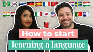 How to Start Learning a Language ft. Polyglot Luca Lampariello