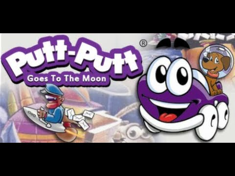 Putt Putt Goes to the Moon Gameplay part 1 Getting rocket fuel |