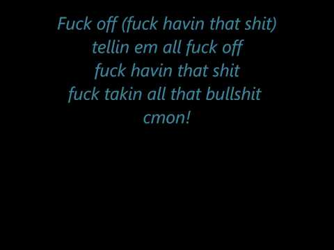 NEW ICP Shout lyrics on screen