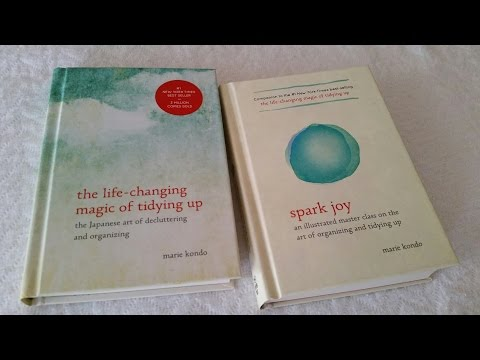 Life Changing Magic vs. Spark Joy... do you really need both books?