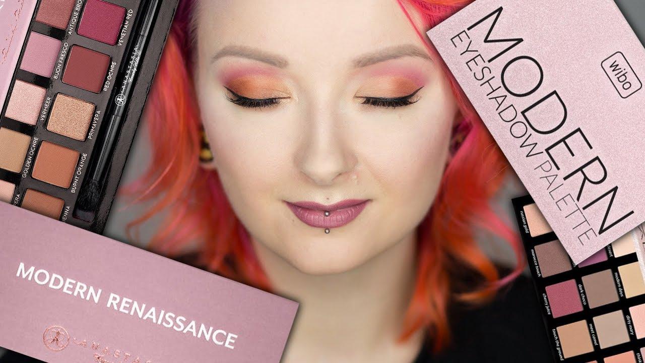 Test na żywo: Wibo Modern vs Anastasia Modern Renaissance ♡ Red Lipstick Monster ♡