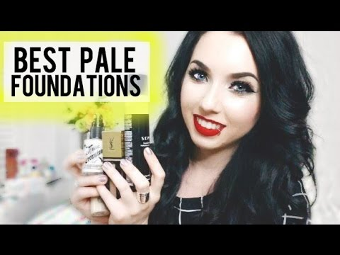 10 Best Foundations For Very Pale Skin Drugstore Amp High