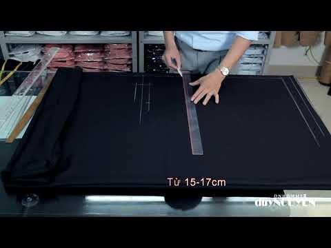 Veston Duy Nguyễn: Chia sẻ công thức cắt áo vest (chi tiết)